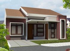 Home Ideas Dot: 8 Simple House Idea was most Recently Simple House Design, House Front Design, Minimalist House Design, Minimalist Home, Door Design, Exterior House Colors, Home Pictures, Building A House, House Plans