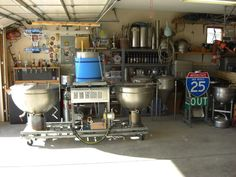 Cleaned the garage and found a brewery - Home Brew Forums