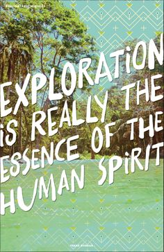 Exploration... Awesome art print.