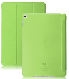 Dual Case With See-Through Back For Apple iPad Air 2 - Green