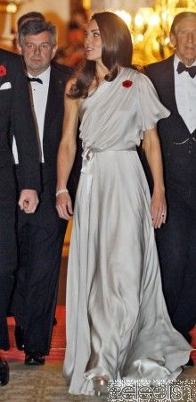 Kate Middleton Silver One Shoulder Gown Celebrity Inspired Dress for Sale! Come in and check our celeb dresses! Vestidos Kate Middleton, Moda Kate Middleton, Kate Middleton Shoes, Kate Middleton Style, Princesa Kate Middleton, Celebrity Inspired Dresses, Estilo Real, Boutique Fashion, One Shoulder Gown