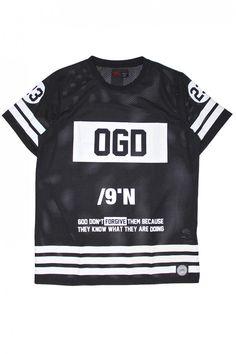 T-shirt OGD mesh noir SIxth June 231AVT - T-shirt - Homme