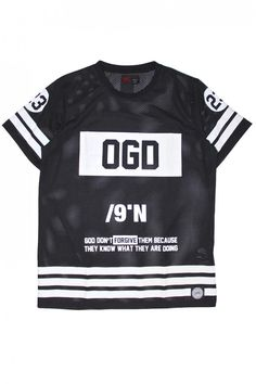 T-shirt OGD mesh noir SIxth June 231AVT - T-shirt - Homme