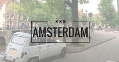 Begin augustus ging ik twee dagen naar Amsterdam waar ik veel zag, bezocht, hoorde en vaststelde. IK HOORDE -Heel veel Engels spr...