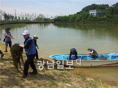 광양제철소 클린오션 봉사단 와우 생태호수공원 정화활동