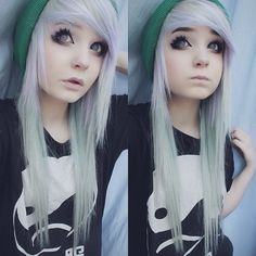 necesito un pelo asi ;-;                                                                                                                                                     Más