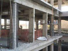chemisage de poteau Civil Engineering Works, Hotel Floor Plan, Construction Documents, Reinforced Concrete, Old Building, Beautiful Homes, Interior Decorating, House Design, Calm