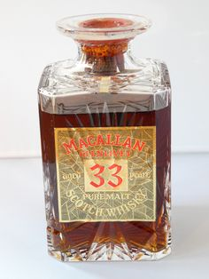 Macallan 33 years old what a lable