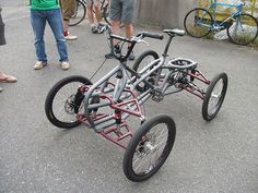 Quad Cycle | I saw this one-off build at the Oregon Manifest… | Flickr