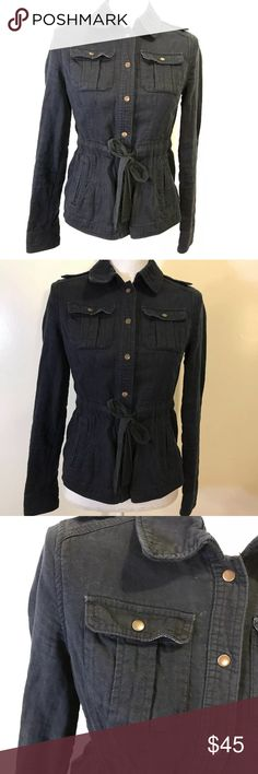 Anthro Daughters of the Liberation Military Jacket Anthropologie Daughters of the Liberation Military Jacket Pockets Drawstring 2. In good condition, minor fading Anthropologie Jackets & Coats