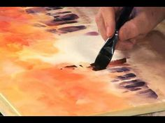 ▶ Luminous Watercolor with Sterling Edwards: The Wooded Landscape - YouTube