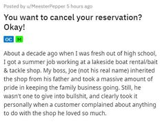 He made sure they knew about the deposit in advance, but they just didn't want to pay it. #deposit #business #story #boat Entertainment Sites, Funny Stories, Pop Culture, Boss, Play, Humor, Business, Drawings, Humour