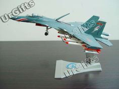 Su 33 Flanker D J15 Combat Aircraft J 15 SU33 1 72 Alloy Model Dark Green New | eBay
