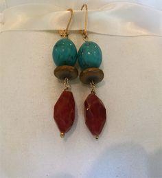 Cayenne earrings – bellaPerlina Jewelry