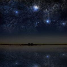 Lightning over Salar de Uyuni | Salar de uyuni and Lightning