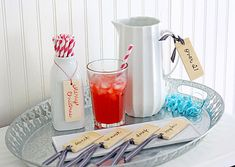 EASY WOODEN BEVERAGE TAGS (OR GIFT TAGS)