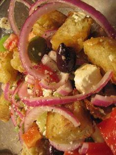 Barefoot Contessas Greek Panzanella Recipe - Food.com