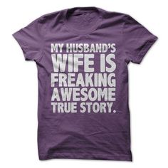 Awesome Wife Tee - #anniversary gift #hostess gift. BUY NOW => https://www.sunfrog.com/LifeStyle/Awesome-Wife-Tee.html?68278