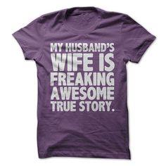 Awesome Wife T-Shirts, Hoodies, Sweatshirts, Tee Shirts (19.99$ ==► Shopping Now!)
