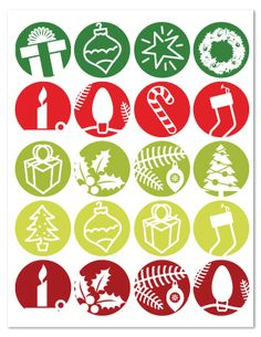 idea for simple Advent calendar. Silhouette Cameo Christmas, Christmas Silhouettes, Christmas Icons, Christmas Elf, December Daily, Merry And Bright, Paper Cutting, Advent Calendar, Free Printables