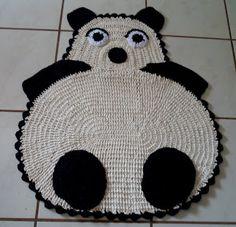 Tapetes Criativos: URSO PANDA
