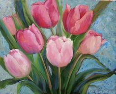 paintings of yellow tulips - Yahoo Image Search Results Original Oil Painting, Watercolor, Tulip Painting, Flower Art, Image, Painting, Oil Painting, Art, Arts And Crafts