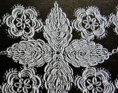 If you would like to join the Tat-Along, read about it here  and leave a comment.   Pattern: Each repeat of Tischband requires you to tat f...
