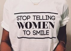 Feminist Apparel, Big Cartel, Smile, Sweatshirts, Mens Tops, T Shirt, How To Wear, Instagram, Women
