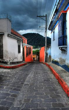 Calle de Pensión Bonifaz  Guatemala