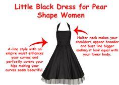 Building Wardrobe for the Pear Shape Body - LBD - Little Black Dress