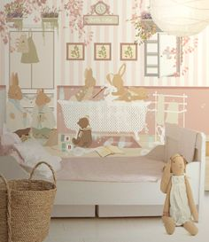 Little Hands Wallpaper Mural - The wallpaper can be ordered in various sizes. We are like tailors, the wallpaper will fit perfectly on your wall, you just have to give us the measures you need! Childrens Bedroom Wallpaper, Kids Bedroom, Little Hands Wallpaper, Kids Wall Decor, Little Girl Rooms, Kids Playing, Baby Room, Nursery, Babies Rooms