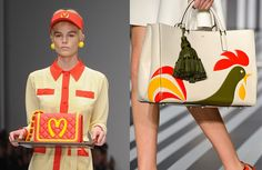 fast food and fashion