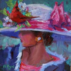 Honey, you think anyone will notice my new easter hat...Elizabeth Blaylock