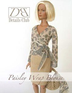Patron de couture pour poupée de 16Tyler par DBDollPatterns sur Etsy