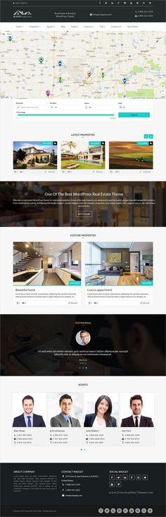 Penthouse   Real Estate Themes   Pinterest   Wordpress