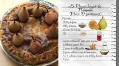 """Le piquenchâgne de Françoise - Recette extraite des """"Carnets de Julie"""" Julie Andrieux, French Food, Dessert Recipes, Desserts, Camembert Cheese, Risotto, Muffins, Cooking Recipes, Cake"""
