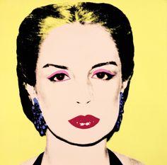 Carolina Herrera by Andy Warhol (1979)