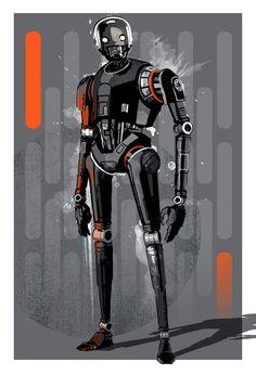 K-2SO by MediaGraffitiStudio - Rogue One A Star Wars Story