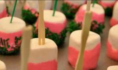 Marshmallow lollies