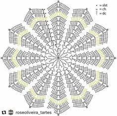 Crochet ripple blanket or can make a bigger rug chart pattern Free amigurumi pattern Batman snuggle 24 december, 2014 Every parent should encourag Gráfico super útil , vai de sousplat a tapete dependendo do fio que vc usar from - - Every parent should e Filet Crochet, Mandala Au Crochet, Crochet Stars, Crochet Circles, Crochet Doily Patterns, Crochet Round, Crochet Home, Thread Crochet, Crochet Motif