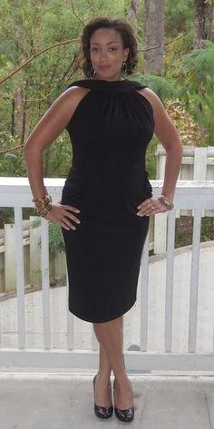 Vogue 2899 - Little Black {40th Birthday} Dress | Erica B.'s - D.I.Y. Style!