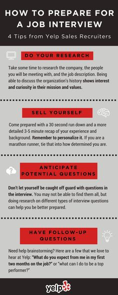 e57d1b04381 Check out these four top tips to use for your next interview prep.