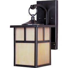 Coldwater EE is a traditional, craftsman/mission style, energy saving collection from Maxim Lighting International in two finishes, Acid Verde or Burnished with Honey glass. Number of Light: 1 Light L