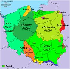 Languages and dialects of Poland Languages and dialects of Poland The post Languages and dialects of Poland appeared first on Deutschland. Poland Language, Poland Map, Poland History, European Languages, City Maps, Historical Maps, Science And Nature, Family History, Genealogy