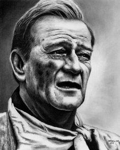 John Wayne by Rick Fortson.