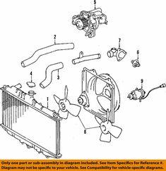Engine Water Pump fits 2012-2017 Nissan Versa Versa Note  GMB