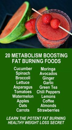 20 Fat Burning Metabolism Boosting Superfoods. Get our FREE weight loss eBook with suggested fitness plan, food diary, and exercise tracker. Lear about Zija's potent Moringa based weight loss products that help your body detox, increase energy, burn fat, and lose weight more efficiently. Look and feel your best with Zija! LEARN MORE #FatBurning #WeightLoss #Metabolism #Diet #Foods