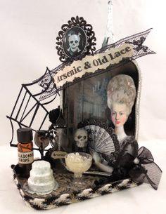 Altered Altoid tin for Halloween