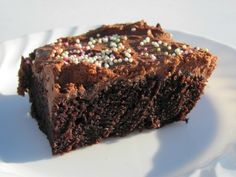 I made this for chocolate cake day at McGuire Chiropractic and had no eggs.  Therefore, i searched and found this, gluten, dairy and egg free.  it is delish!