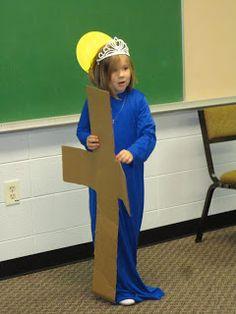 St. Helen saint costume